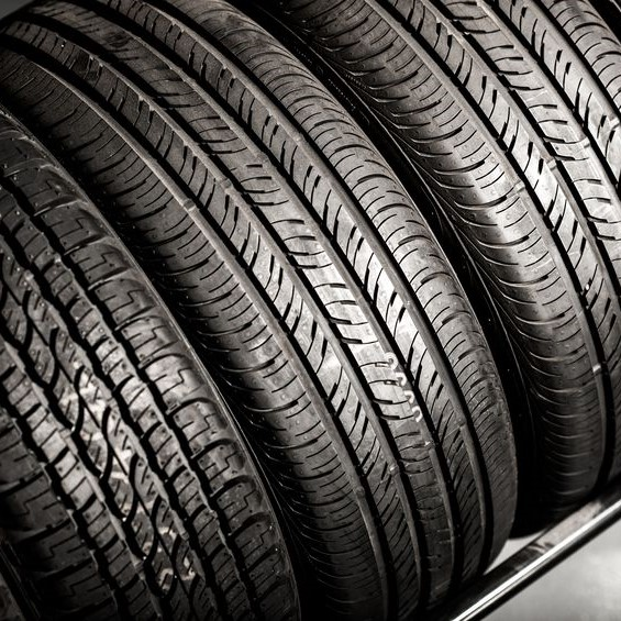tires in line