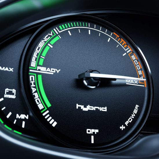 Hybrid speedometer