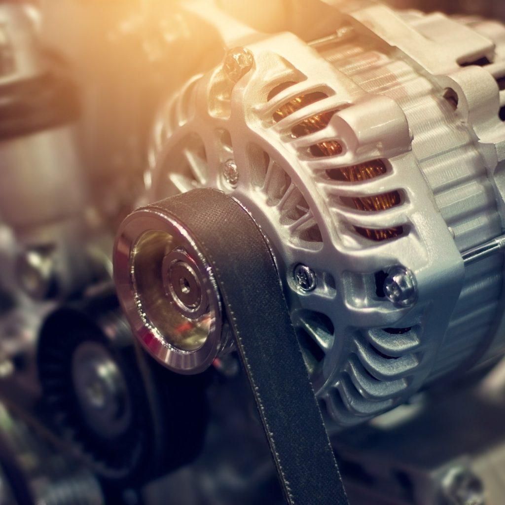 alternator and belt